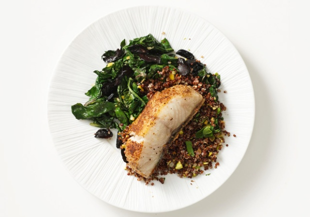 black-cod-with-swiss-chard-olives-and-lemon-640