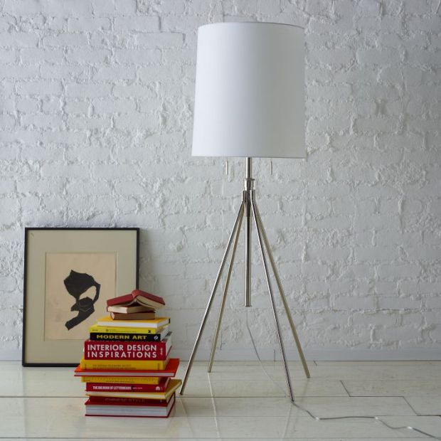 adjustable metal floor lamp