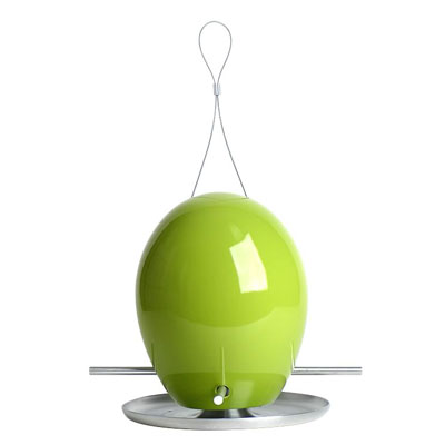 egg bird feeder
