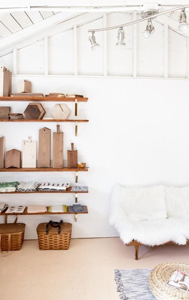 smitten studio shelves